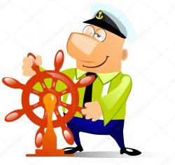Kapitein aan het roer